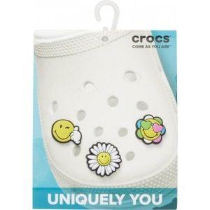 BNWT 🌈👍🌼 CROCS Smiley World Jibbitz Charms Pack
